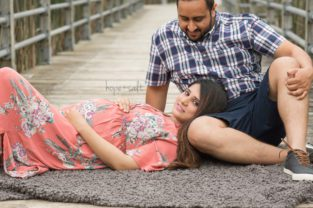 burlington maternity photography - outdoor session for expecting mama Shivi by Newborn photographer Hope + Salt